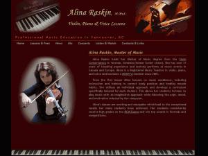 alina raskin music