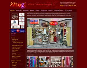 mogishop website