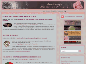 Anne Massey Astrology Blog