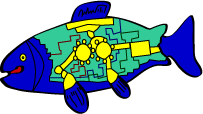 native art fish support