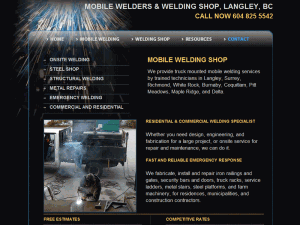 Mobile Welding Shop Langley Vancouver