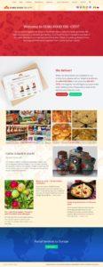 eurofood website screenshot